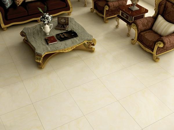 Phong cách sang trọng trong phòng khách với gạch prime
