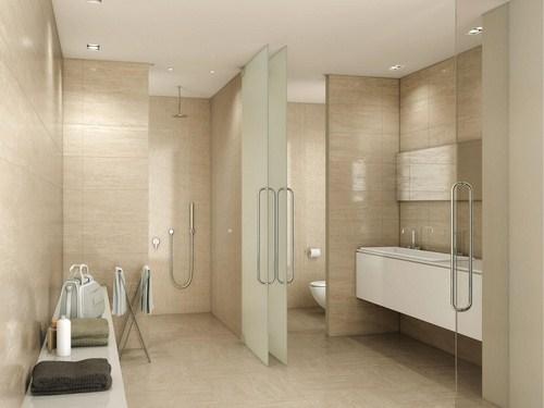 Gạch ốp lát nhà vệ sinh có kích thước 60x60 giúp rộng rãi thoáng mát hơn rất nhiều