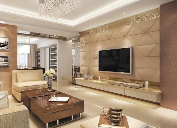 Hướng dẫn cách chọn gạch ốp tường phòng khách đẹp mê ly 1