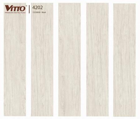 Gạch Vitto giả gỗ 4202