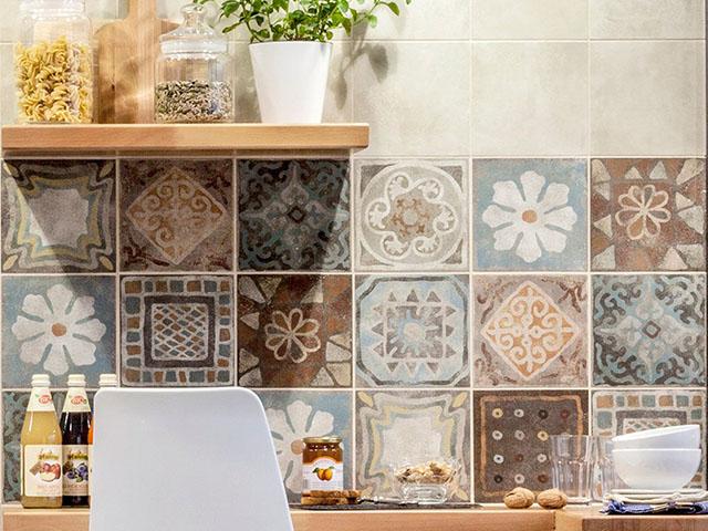 gạch ốp tường trang trí phòng bếp