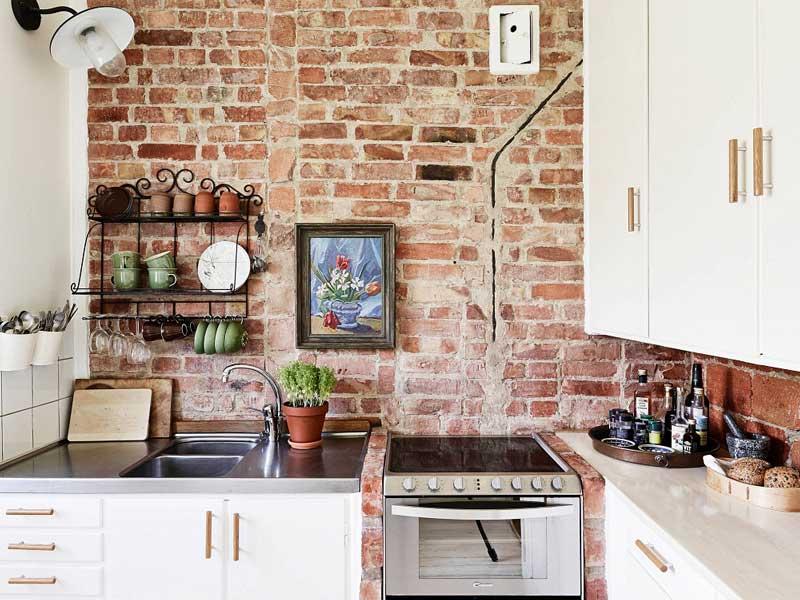 khéo léo chọn gạch ốp tường trang trí nhà bếp