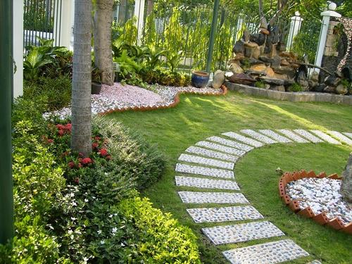 gạch lát sân vườn