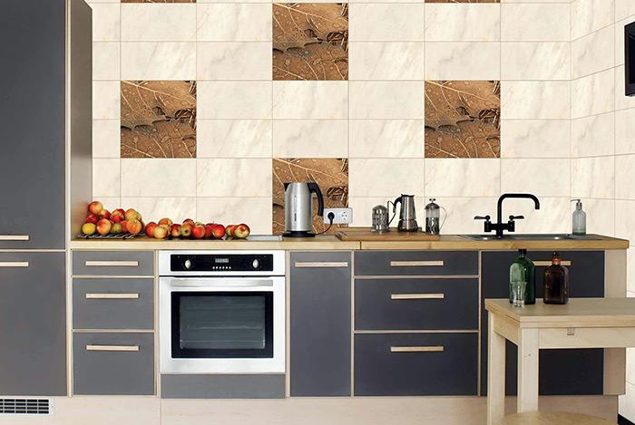 gạch ốp trang trí tường bếp