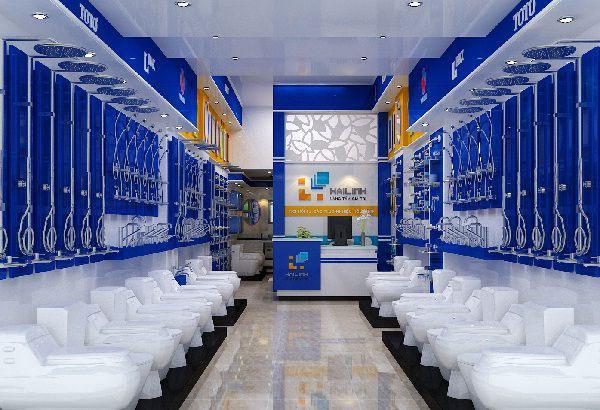 khôn gian showroom hải linh