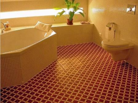 mẫu gạch lát nền nhà tắm chống trơn