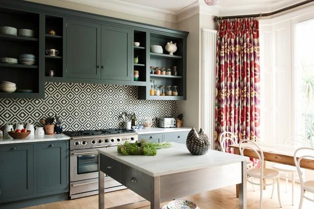 gạch ốp lát cho phòng bếp thêm xinh