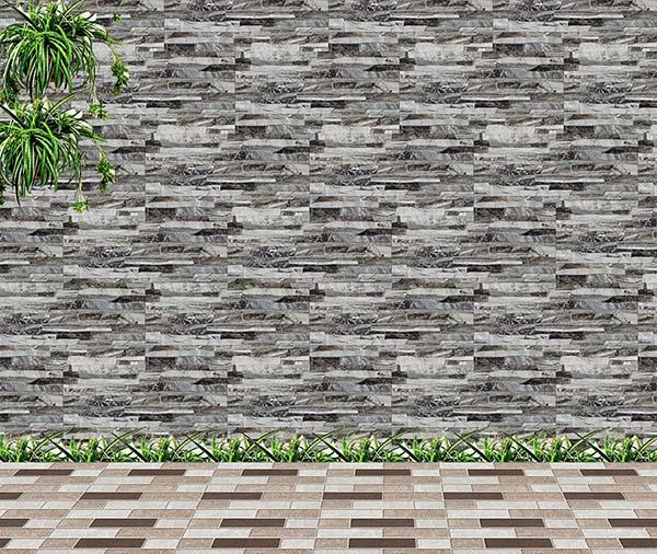 Gạch ốp tường Viglacera GW3606 màu ghi xám vân đá