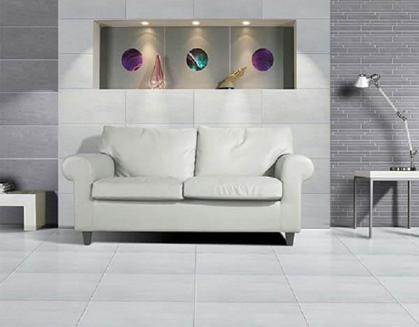 Gạch Taicera G68935 là mẫu gạch 60x60 phù hợp với phòng khách phong cách vintage, retro,...