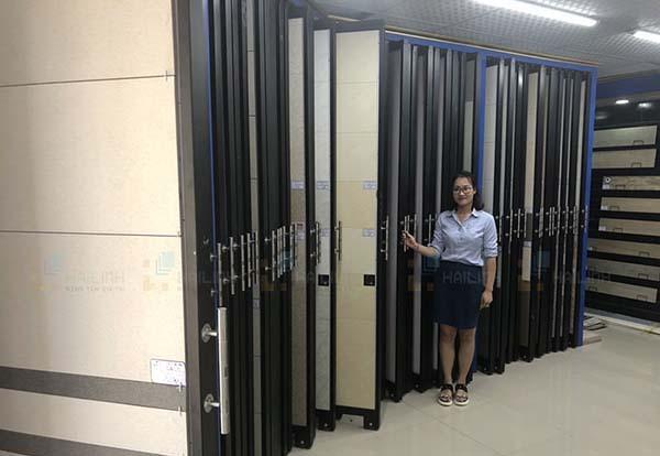 Hệ thống showroom Hải Linh có rất nhiều mẫu gạch lát nền 80x80 đẹp