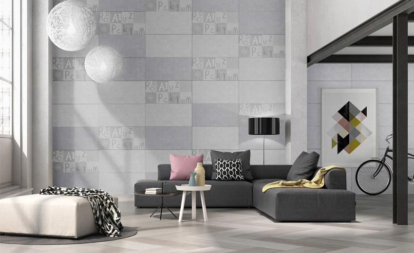 Top 5 mẫu gạch ốp tường phòng khách