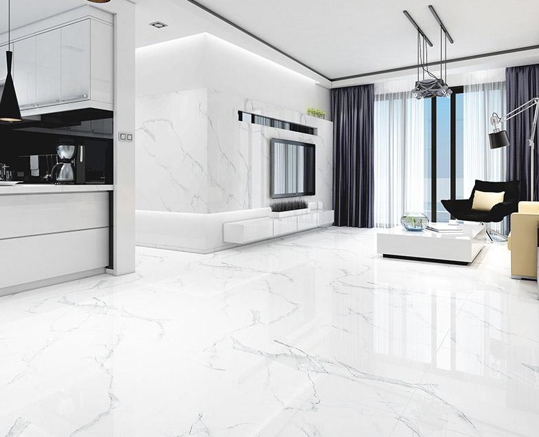 Mẫu gạch lát nền phòng khách 80x80 bán chạy nửa đầu năm 2020