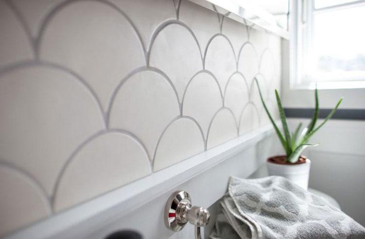 Trang trí phòng khách bằng gạch ốp tường Đồng Tâm cực đơn giản 3