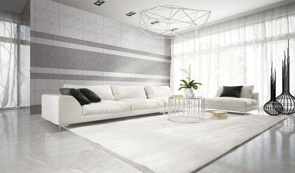 Nguyên tắc phối màu gạch ốp tường phòng khách mát nhãn 2
