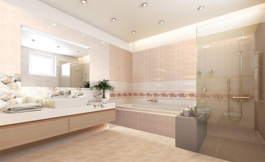 Dùng gạch lát nền 40×40 cho nhà vệ sinh