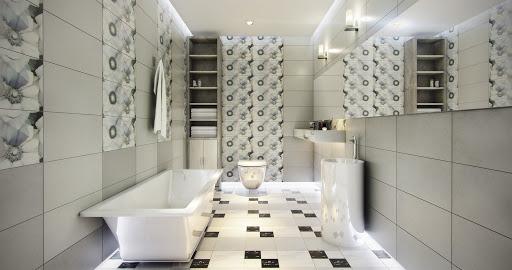 Gạch ốp tường nhà tắm và những lưu ý về giá thành