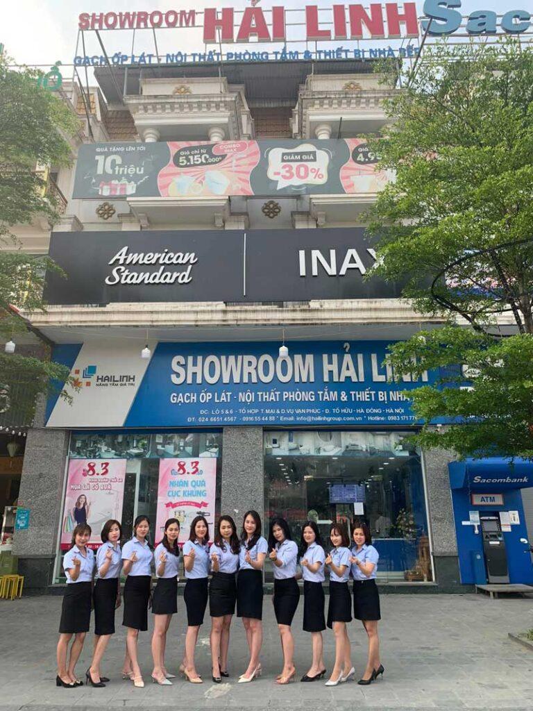 Địa chỉ bán gạch ốp lát nhà vệ sinh uy tín tại Hà Nội