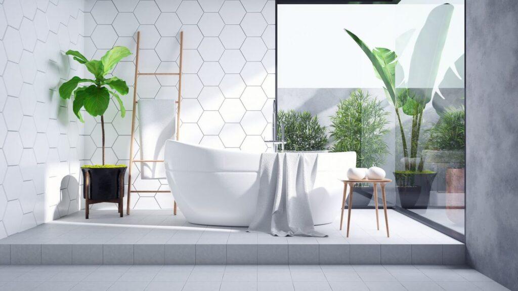 Gạch ốp tường wc sang - xịn 1