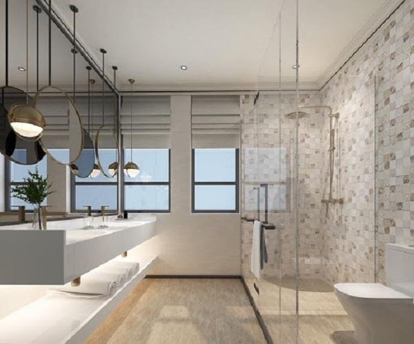Gạch ốp tường wc sang - xịn 5