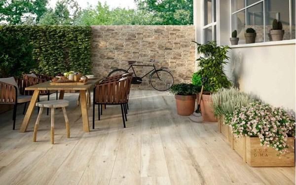 [ĐỪNG BỎ LỠ] 99+ mẫu gạch lát nền giả gỗ đẹp cho mọi không gian 19