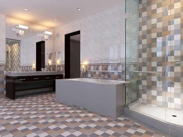 Gạch ốp tường 60x60 thích hợp cho không gian nào? 4
