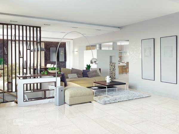 Gạch ốp tường 60x60 thích hợp cho không gian nào? 6