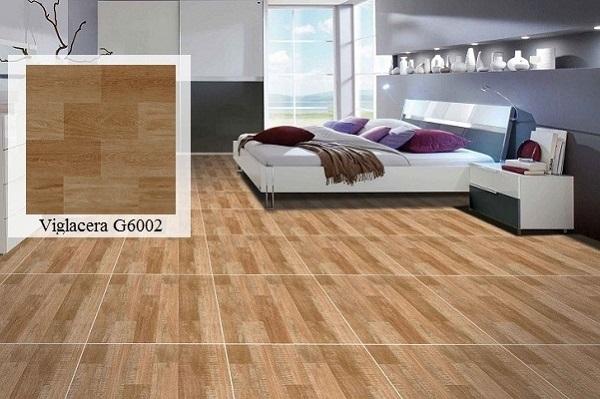 Gạch lát nền giả gỗ 60x60 phòng khách - 05