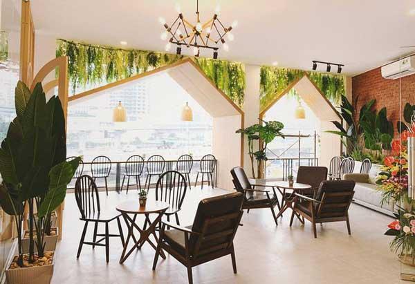 Mẹo thiết kế quán cafe đẹp cho không gian nhỏ 2