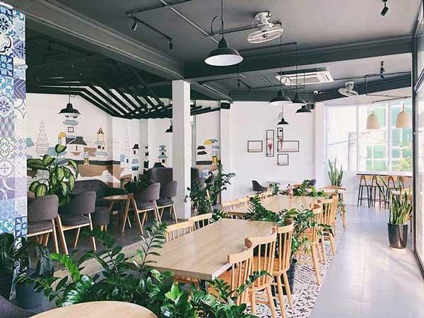 Mẹo thiết kế quán cafe đẹp cho không gian nhỏ 4