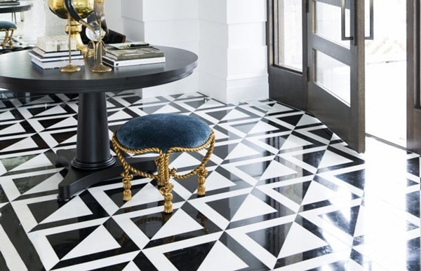 TOP mẫu gạch lát nền phòng khách màu đen ấn tượng nên chọn năm 2021 4