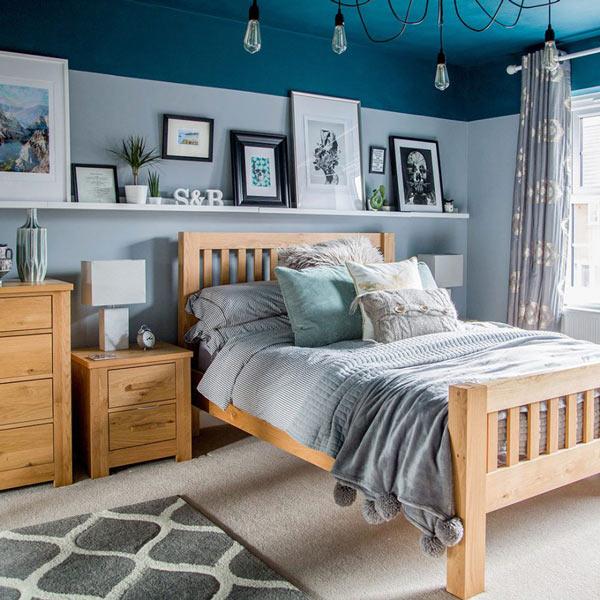 10+ thiết kế phòng ngủ đẹp màu xanh ĐẸP ẤN TƯỢNG 1
