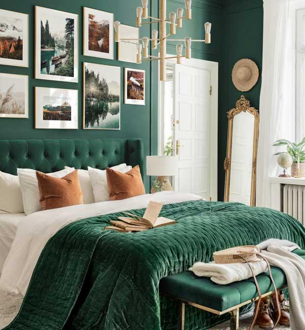 10+ thiết kế phòng ngủ đẹp màu xanh ĐẸP ẤN TƯỢNG 11