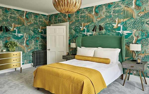 10+ thiết kế phòng ngủ đẹp màu xanh ĐẸP ẤN TƯỢNG 12