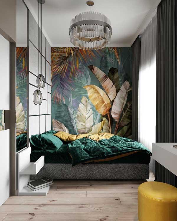 10+ thiết kế phòng ngủ đẹp màu xanh ĐẸP ẤN TƯỢNG 13