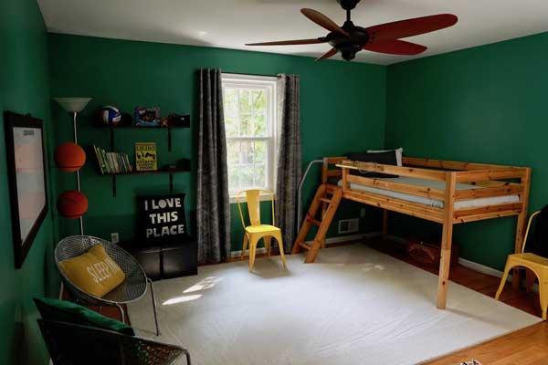 10+ thiết kế phòng ngủ đẹp màu xanh ĐẸP ẤN TƯỢNG 15