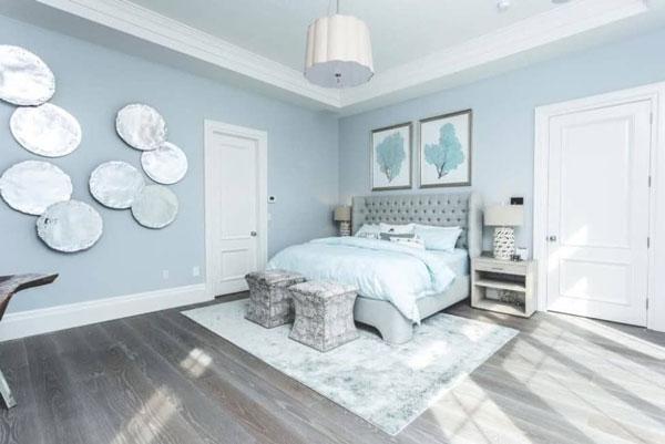 10+ thiết kế phòng ngủ đẹp màu xanh ĐẸP ẤN TƯỢNG 4