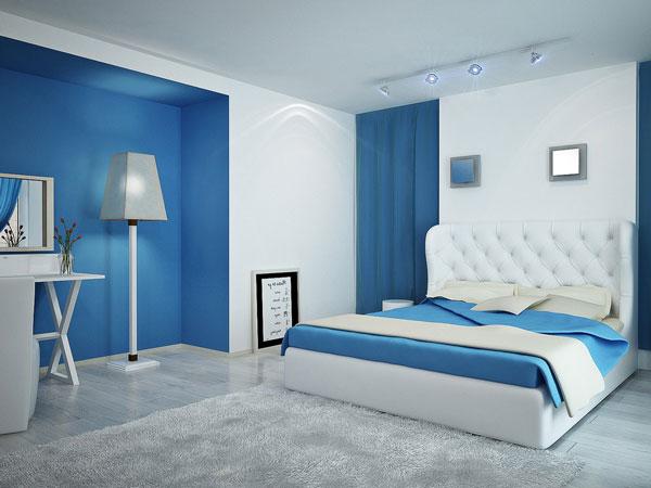 10+ thiết kế phòng ngủ đẹp màu xanh ĐẸP ẤN TƯỢNG 8