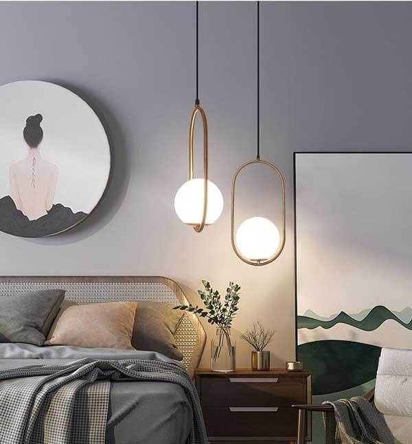 20++ mẫu đèn trang trí phòng ngủ đẹp - hottrend 2021 1