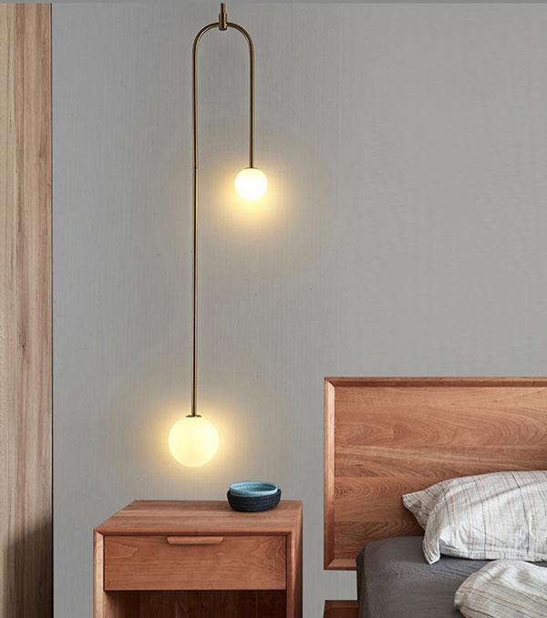 20++ mẫu đèn trang trí phòng ngủ đẹp - hottrend 2021 17
