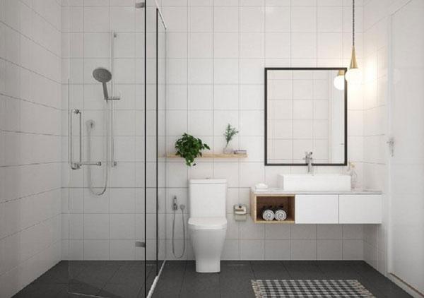 Cập nhật các mẫu thiết kế nhà vệ sinh 5m2 cực đẹp và tiện nghi 2