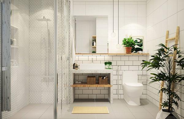 Cập nhật các mẫu thiết kế nhà vệ sinh 5m2 cực đẹp và tiện nghi 3