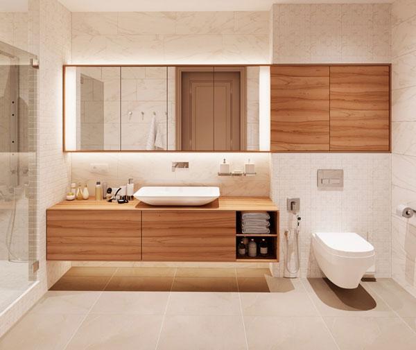 Cập nhật các mẫu thiết kế nhà vệ sinh 5m2 cực đẹp và tiện nghi 6