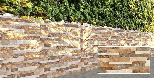 TOP mẫu gạch thẻ ốp tường giả đá đẹp nhất 2021 2