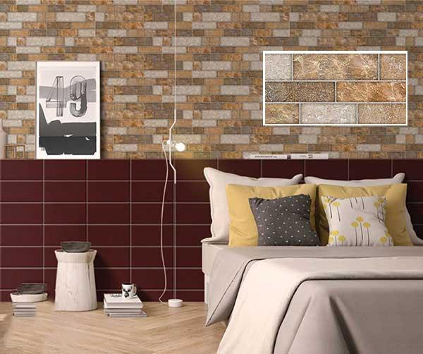 TOP mẫu gạch thẻ ốp tường giả đá đẹp nhất 2021 5