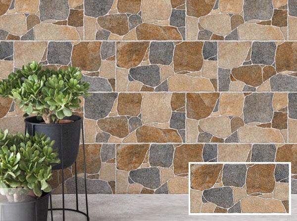 TOP mẫu gạch thẻ ốp tường giả đá đẹp nhất 2021