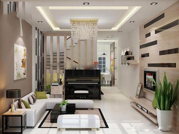 Tham khảo 5 mẫu phòng khách nhà ống đẹp 2021 1