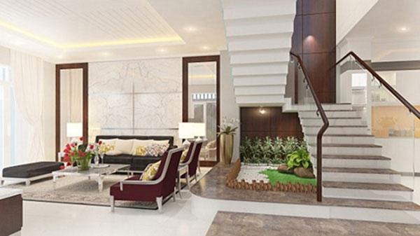 Tham khảo 5 mẫu phòng khách nhà ống đẹp 2021 3
