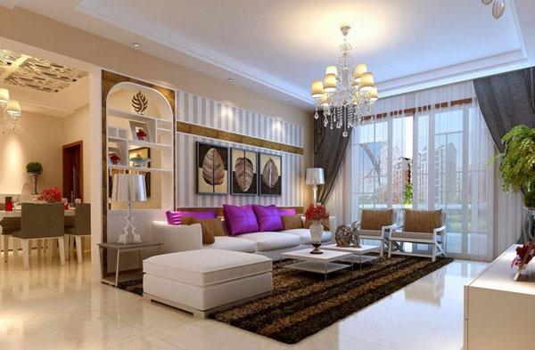 Tham khảo 5 mẫu phòng khách nhà ống đẹp 2021 5