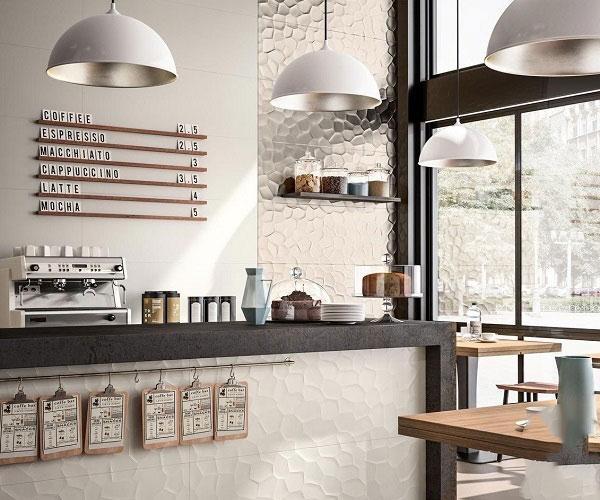 Điểm danh các mẫu gạch ốp tường quán cafe hot hit 2021 1