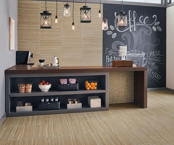 Điểm danh các mẫu gạch ốp tường quán cafe hot hit 2021 6